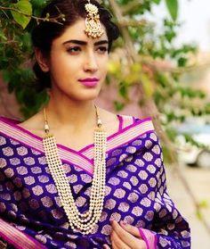 Classical Antiquity - exquisite benarasi silk and chanderi dupattas