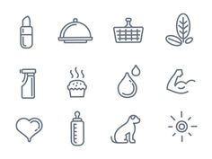 Dribbble - Custom icons by Ivan Manolov #icon #badge