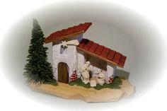 crèche miniature - minikrippe - miniature crib www.snorri.de