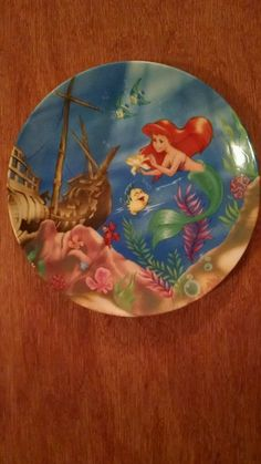 """""""The Little Mermaid"""", a beautiful Disney collector plate in Collectibles, Disneyana, Contemporary (1968-Now)   eBay"""
