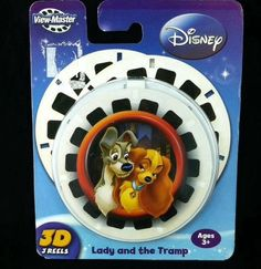 Disney Lady and the Tramp View Master 3D 3 Reels Sealed New 2008 #Disney