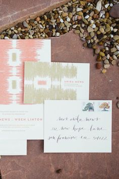 The rustic wedding ceremony trend is still really going strong, so every single day I find out some more unique projects and inspiration floating around the online world. Wedding Paper, Floral Wedding, Rustic Wedding, Typography Invitation, Invitation Design, Invitation Suite, Wedding Stationary, Wedding Invitations, Invites