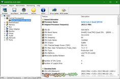 HWiNFO32 5.22.2820  HWiNFO32--プロセッサ--オールフリーソフト