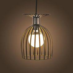 Vintage Iron Pendant Light | Vintage Iron Pendant LightIs Bulbs Included: NoInstallation Type: Cord PendantPower Source: ACBody M | Primary View | Sassy Posh
