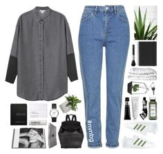 """""""BLACK AND EXPENSIVE"""" by f-4bulous ❤ liked on Polyvore featuring Monki, Topshop, adidas, Jan Kurtz, Aesop, NARS Cosmetics, Alexander Wang, Ex Voto Paris, Georg Jensen and Rizzoli Publishing"""