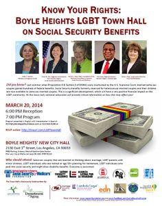 """Live in CA? In the area? Join us! Know Your Rights Town Hall Locations."" (click through to learn more) #SocialSecurity"