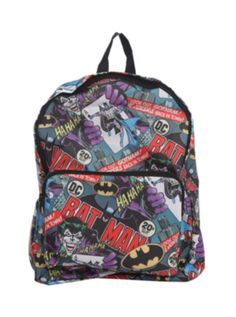 Joke's on you, cuz this Joker backpack is full of surprises