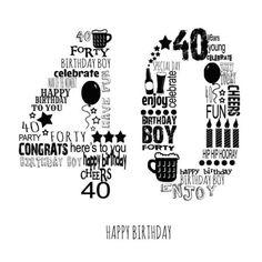 Leading Illustration & Publishing Agency based in London, New York & Marbella. 40th Birthday Images, Happy Birthday Cheers, 40th Bday Ideas, 40th Birthday Quotes, 40th Birthday Decorations, 40th Birthday Cards, Forty Birthday, 40th Birthday Parties, Birthday Pictures