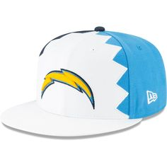 sports shoes 3de42 0b77b Los Angeles Chargers New Era 2019 NFL Draft On-Stage Official 9FIFTY  Adjustable Snapback Hat – White, Your Price   34.99