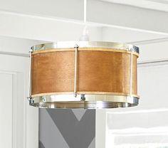 Drum Snare Pendant Lamp #PotteryBarnKids