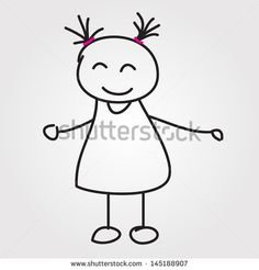 Stick Children Stock Photos, Royalty-Free Images & Vectors ...