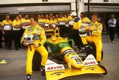 1992 Benetton B192 - Ford (Martin Brundle & Michael Schumacher)