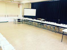 setting up for meeting in the waldergrave studio #radstock