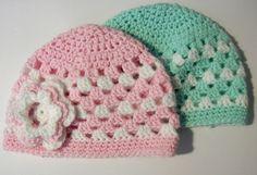 Ravelry: Granny Stripe Baby Hat pattern by The Quiet Koala