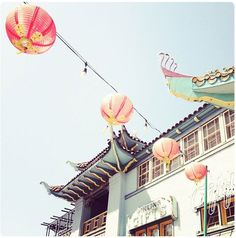 Chinatown, Los Angeles - a wonderful mix of tradition, art galleries, boutiques, and restaurants.