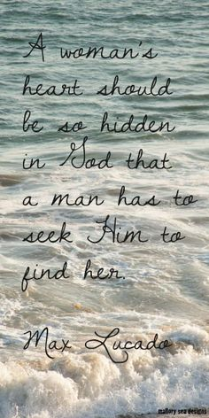 Absolutely essential.  If he isn't seeking God with all he has, he's not worth a moment of my time.  Lesson learned.