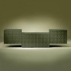 Aparador Diamond | Luísa Peixoto Design Bespoke Furniture, Wall Lights, Design, Handmade, Home Decor, Ral Colours, Sideboard Cabinet, Interiors, Chaise Longue