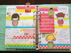 Coloursnme: Kikki.K Large Time Planner and The Japanese Dolls