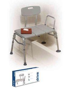 Asiento silla para ducha con respaldo aseo ducha ba era eii shower chair standing - Silla ortopedica para banera ...