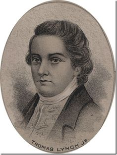 Thomas Lynch, signer of the Declaration of Independence
