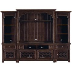 bernhardt pacific canyon console and deck with pier units 349818l819r
