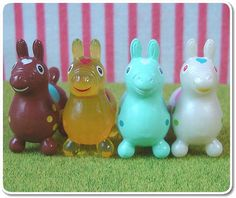 Cute Kawaii Miniature Rody Japanese Toys by HarapekoDoggyBag, via Flickr