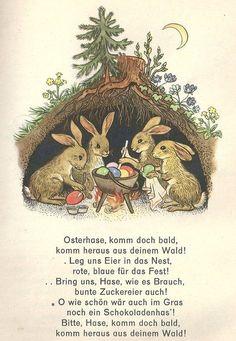 aus dem Jahre 1962, damals waren die Wünsche noch bescheiden! - Beitrag zum Thema Kinder, Ostereier, Osterhase von Maria Beyer aus Harburg auf myheimat.de