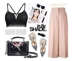 """""""Rosegal 4"""" by merima-kopic ❤ liked on Polyvore featuring Valentino, Balmain and Barry M"""