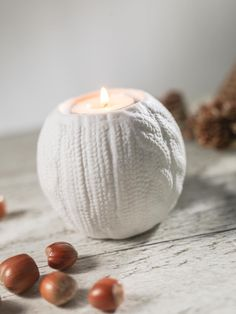 Sweater Candle
