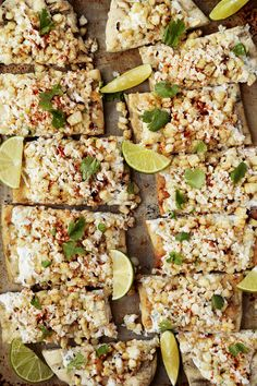 Mexican Street Corn Flatbread - The Candid Appetite