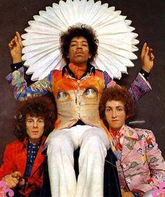 Jimi Hendrix and his band