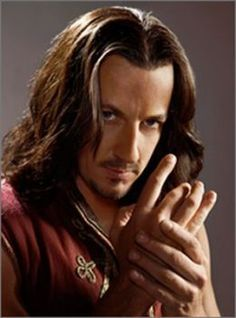 Craig Parker plays Darken Rahl in Legend of the Seeker. Darken Rahl, Craig Parker, Spartacus Blood And Sand, Sword Of Truth, Terry Goodkind, Vlad The Impaler, The Two Towers, Handsome Actors, Classic Tv