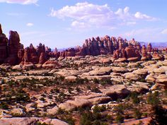 The Needles, Canyonlands National Park, Moab, Utah