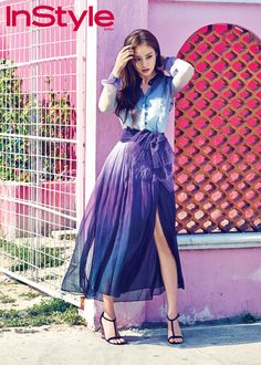 Cancun Gets A Dose Of Kim Tae Hee's Hotness For InStyle Korea's April 2015 Issue (UPDATED 2X) | Couch Kimchi