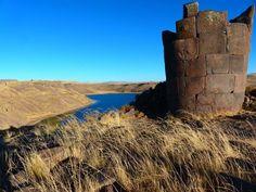 Pérou  Lac Titicaca – côté Péruvien posté dans Pérou par picsandtrips Puno et les tombeaux de Sillustani Dates du séjour : du 1er au 2 juillet 2014