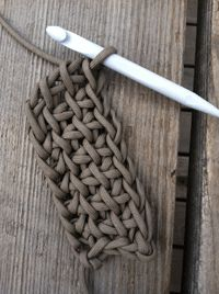 Crochet with Parachute Cord