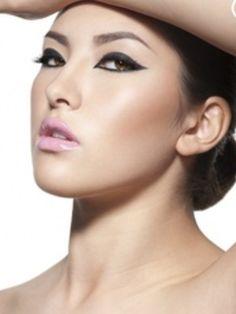 Perfect Asian makeup! Eyes/Lips