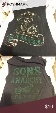 Sons of anarchy Belfast mens tank top Mens tank top soa appeal  Tops Tank Tops