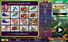 Play Slots, Free Games, Robin, Prince, European Robin, Robins