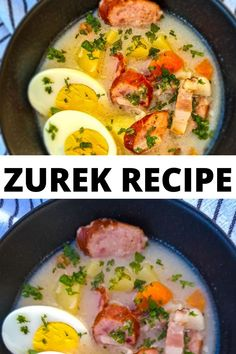Zurek or Zur, as the dish is sometimes called, is a sour soup made from a fermented rye flour starter. Although its name is Polish, its other name 'zur' actually comes from the German word 'sauer' which means 'sour'.Traditionally served during Easter, it was usually served with a hard-boiled egg or a spicy sausage. The zurek recipe varies from region to region, but they all have one thing in common: that salty, creamy, and sour taste that's unlike any other dish.