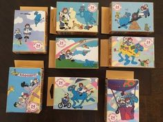 RARE RAGGEDY ANN & ANDY MINI PUZZLES (8) 24 PIECE PUZZLES 1988 FX SCHMID Raggedy Ann And Andy, Puzzles, Dolls, Mini, Baby Dolls, Puzzle, Puppet, Doll, Baby