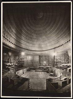 Hans Poelzig – passivity and hermeticism | Graphicine | Grosses Schauspielhaus in Berlin / Great Theatre , 1920
