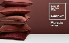 Bedroom colors for 2015 include Marsala color, the beautiful red color of Sicilian wine. Modern bedroom decorating with Marsala color feel warm, beautiful and rich. Lushome shares tips for modern bedr