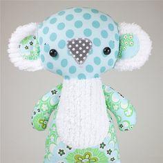 Koby Koala PDF Doll Pattern by bitofwhimsyprims on Etsy