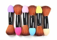 - Make-up brush and puff Make-up brush and puff, lenght: 125 mm, material: NBR, PVC, Al Makeup Brushes, Make Up, Cosmetics, Makeup, Beauty Makeup, Paint Brushes, Bronzer Makeup