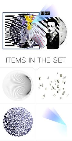"""""""Homage to Bridget Riley - Op Artist"""" by artsdesireable ❤ liked on Polyvore featuring art"""