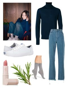 """""""Krystal Jung"""" by hailaariola on Polyvore featuring Officine Générale, Chloé, Smartwool, Keds and Lipstick Queen"""