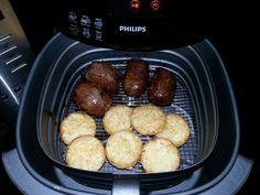 Rundervinken en rösti rondjes; 17 minuten op 180 graden