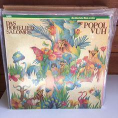 POPOL VUH Das Hohelied Salomos LP 1982 WEA 58 423 GERMAN PRESS krautrock #KrautRockProgressiveArtRock