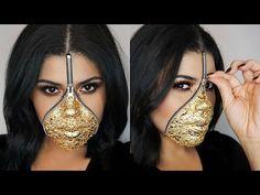 Zipper Face Halloween Makeup 2016 | Glitter Edition | Amber Rose Oatman - YouTube